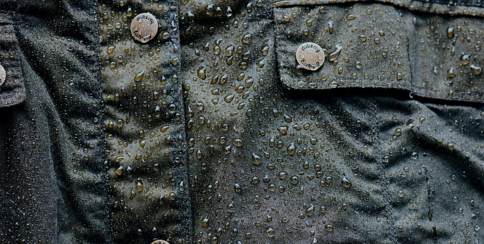 デュバリーワックスジャケット